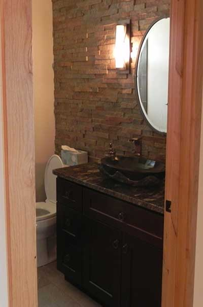 Bathroom Addition Powder Room
